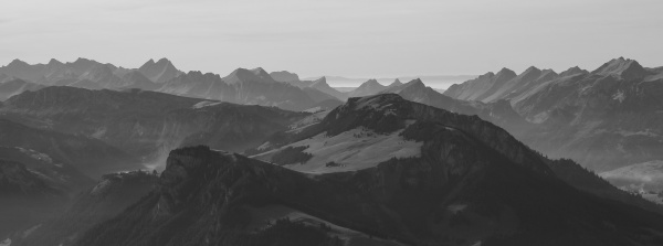 mountains in the bernese oberland