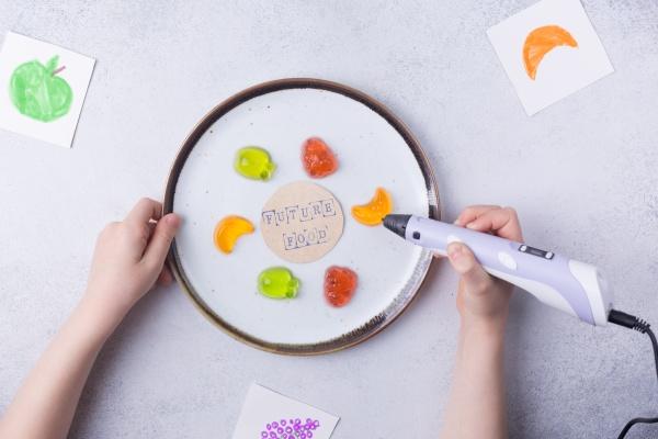 3d printing food concept 3d pen