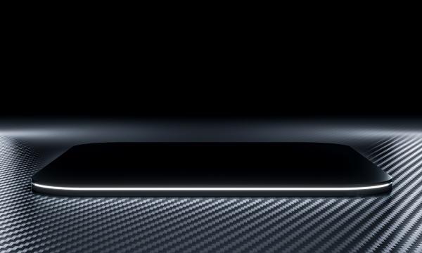 black podium with light on a