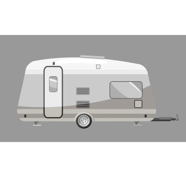 motorhome icon gray monochrome style