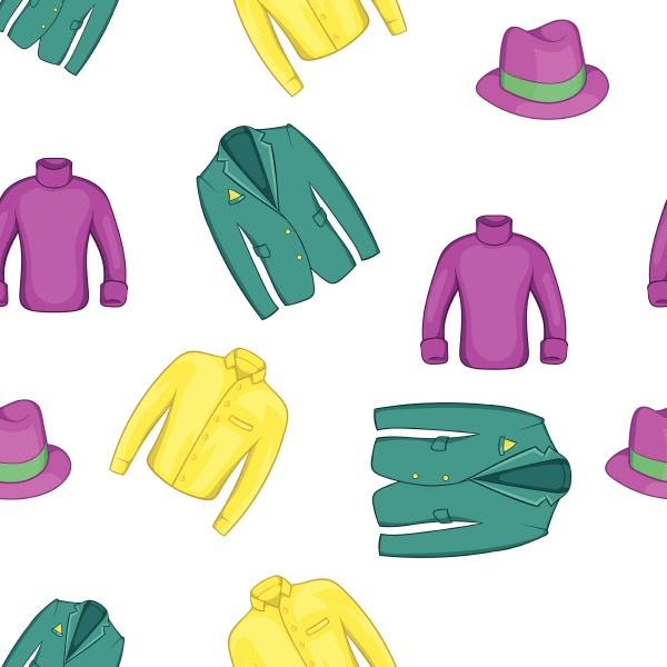 outfits pattern cartoon style