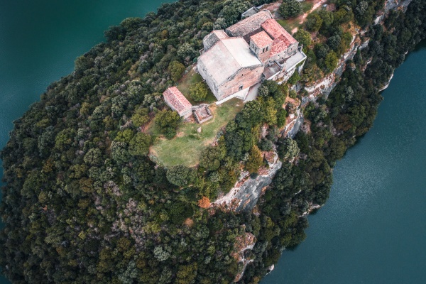 aerial view of the sant pere