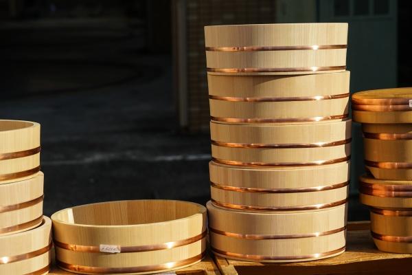 tub made of japanese cypress
