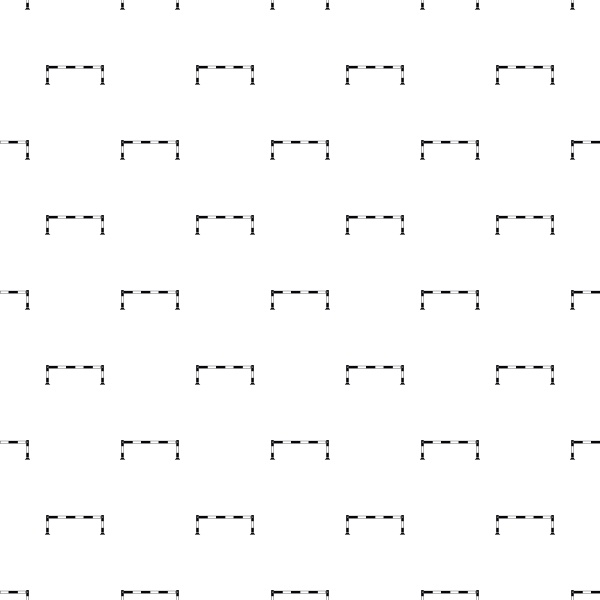 car barrier pattern simple style