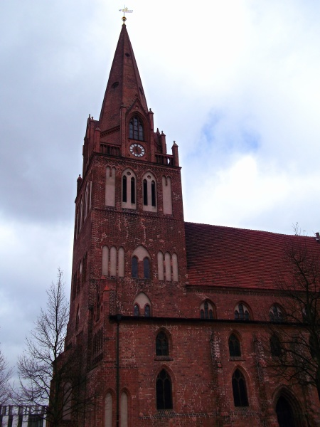 maria magdalenen church from the 14th