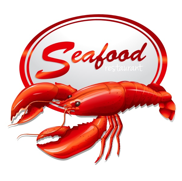 fresh seafood with lobster