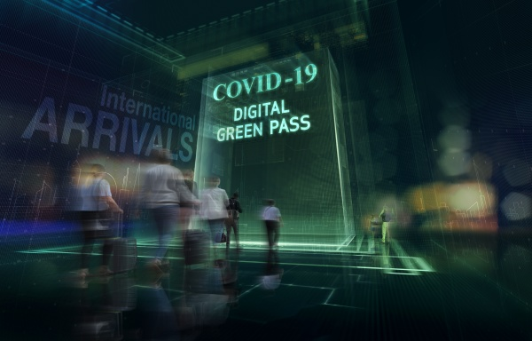 covid 19 digital green pass for