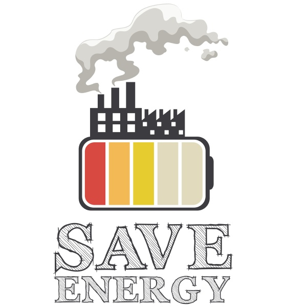 save energy with battery and factory