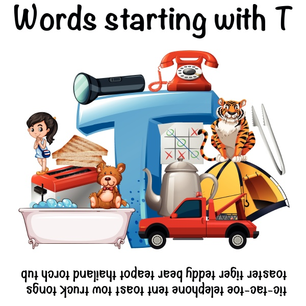 english words starting with t