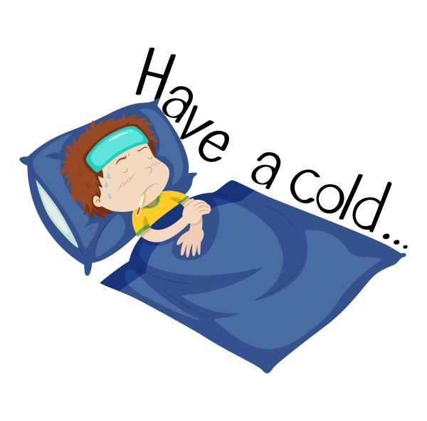 wordcard for have a cold with