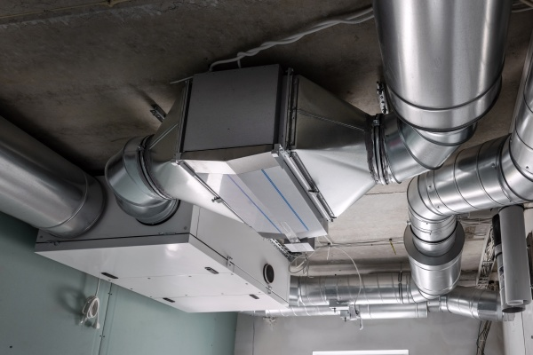 ducted heat recovery ventilation system with