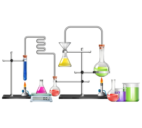science lab with many equipments