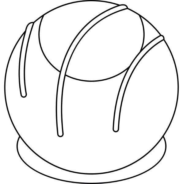 bakery icon outline style