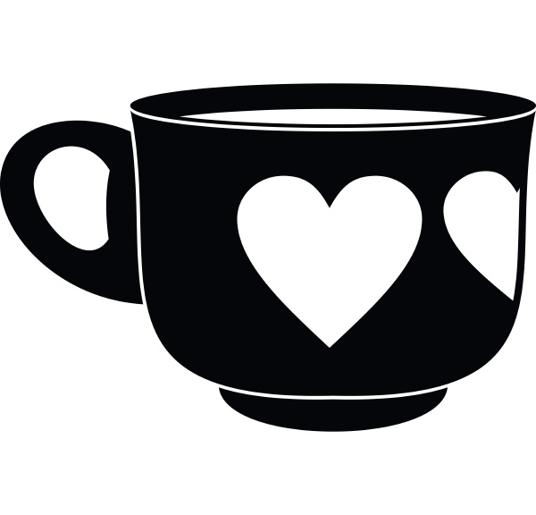 cup icon simple style