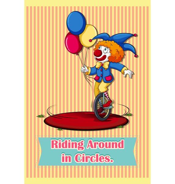 old saying riding around in circles