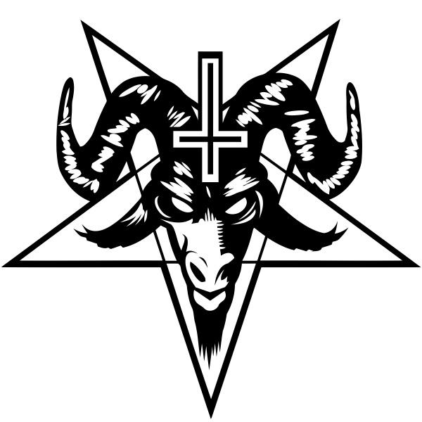 baphomet pentagram satan occult devil