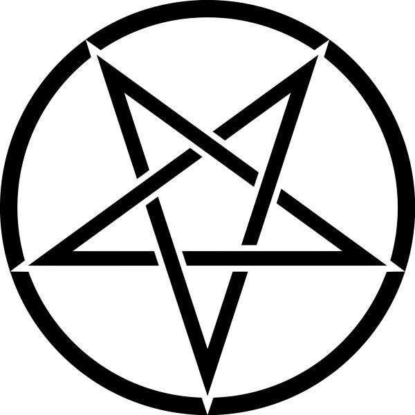 pentagram satan occult devil paganism