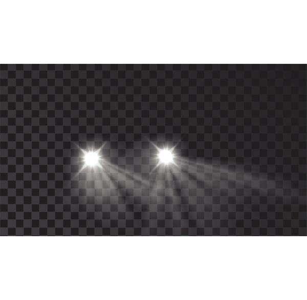 illuminated car light lamps tool effect
