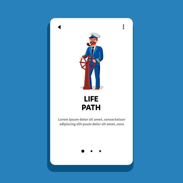 life, path, man, captain, managing, direction - 30322876
