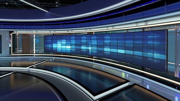 virtual tv studio news set 31
