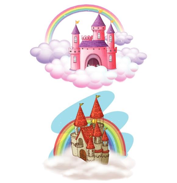 a set of beautiful fairy tale