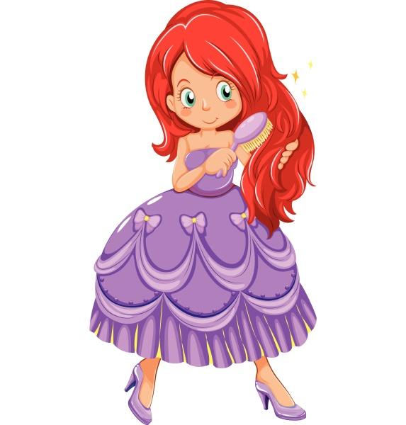 princess in dress