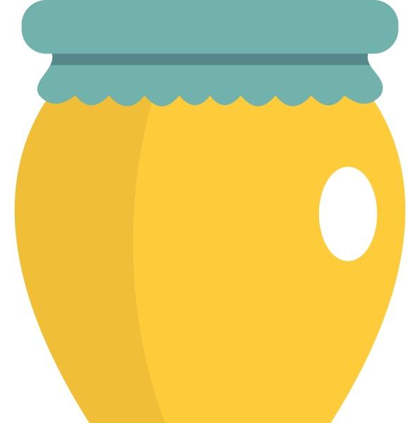 honey liquid bank icon isolated