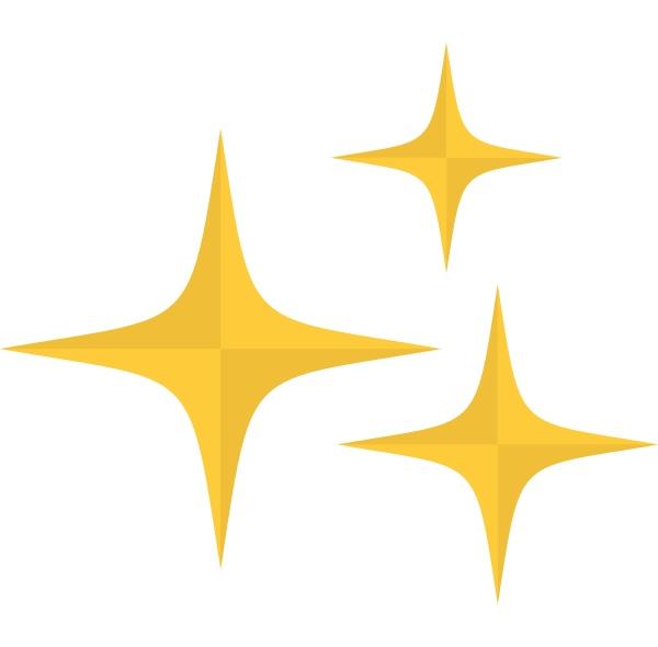 stars icon isolated