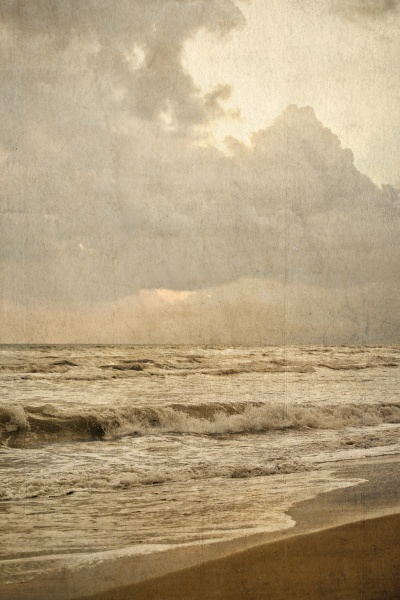 sea and beach vintage style