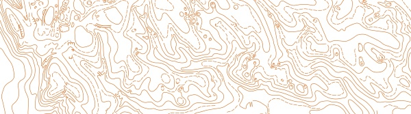 abstract vector topographic map on white
