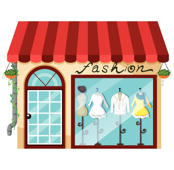 a lady fashion store