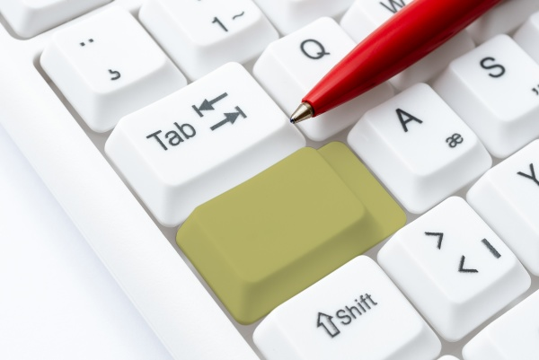 typist creating company documents abstract speed