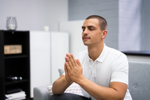 god seeking prayer man