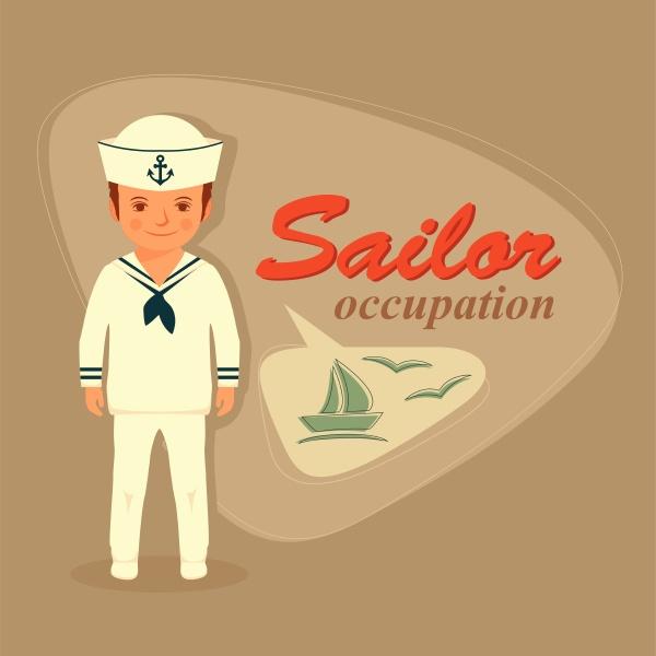 captain sailor cartoon