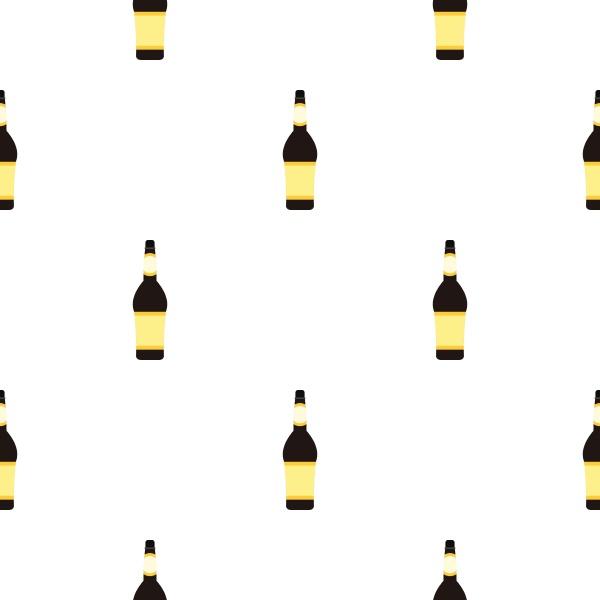 design bottle pattern seamless