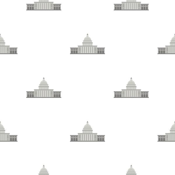 white house pattern seamless