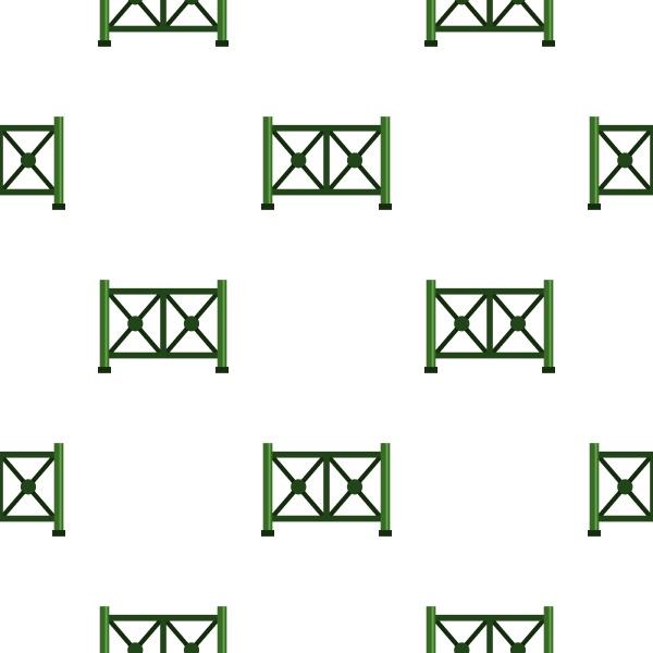 metal fence pattern seamless