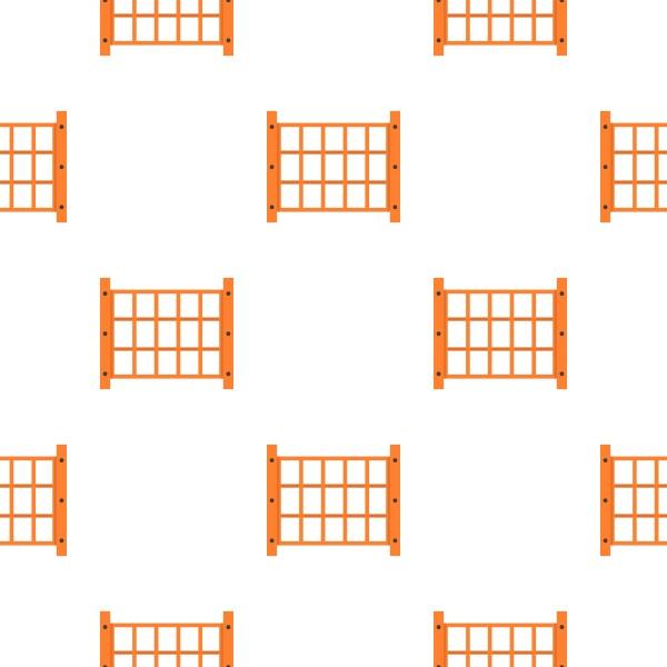 yard fence pattern seamless