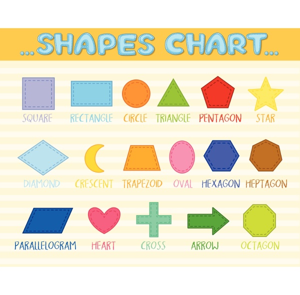 colourful shapes signs and symbols