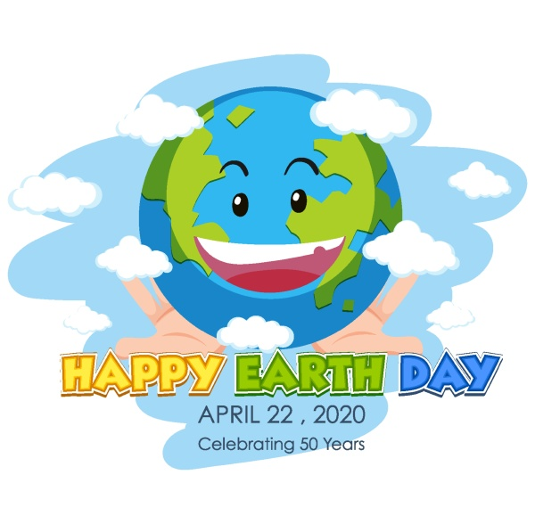 poster design for happy earth day