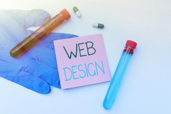 conceptual display web design business