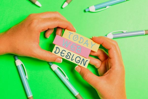 hand writing sign web design