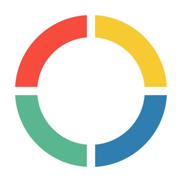 pie chart icon vector graph diagram