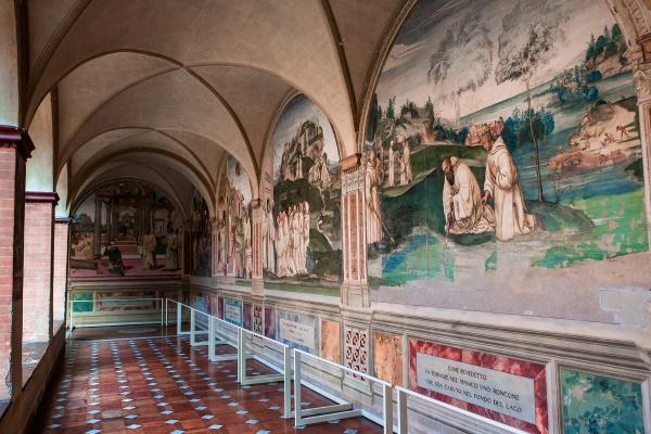 abbey of monte oliveto maggiore tuscany