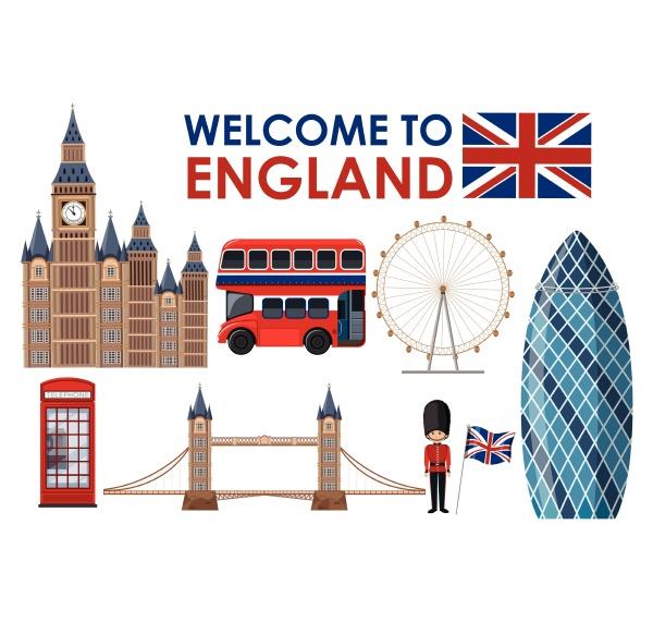 welcome to england landmarks