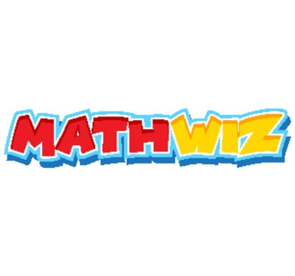 font design for word math wiz