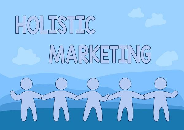 conceptual caption holistic marketing concept meaning