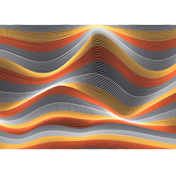 abstract background of flowing lines 1404