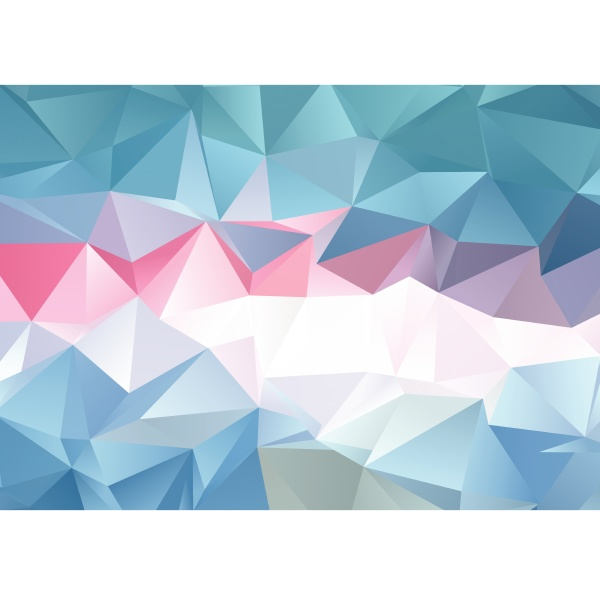 abstract low poly design 1707