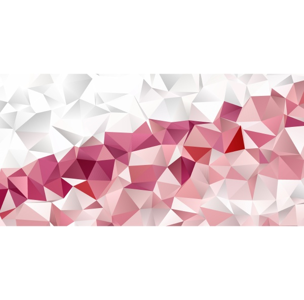 banner template with a low poly